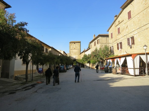 walking through Bevagna